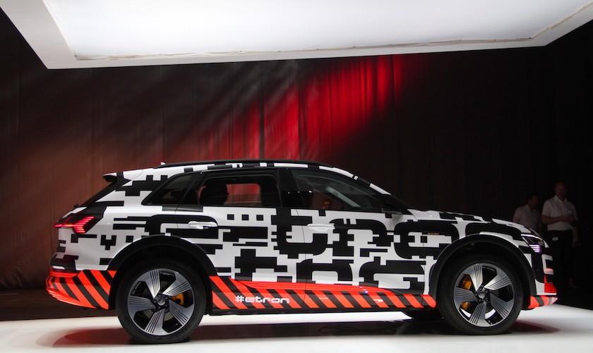 Audis elektriske SUV besøger København
