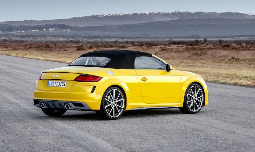 20 år med TT - Audi klar med facelift