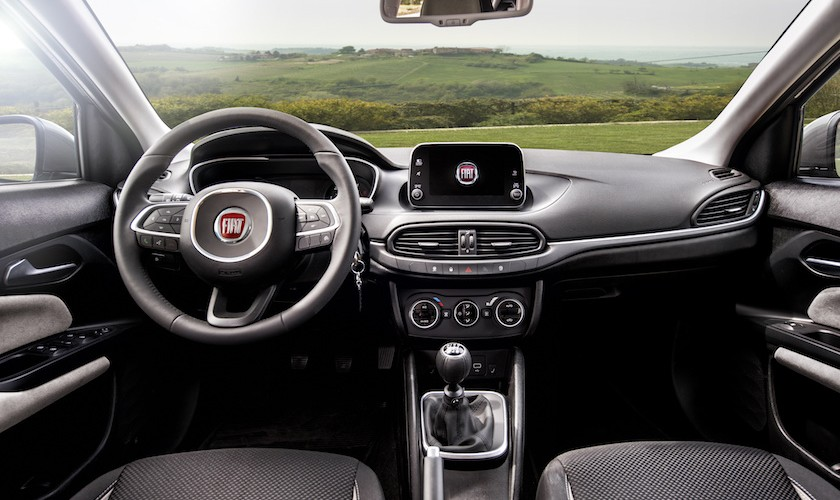 Fiat Tipo med nyt udstyr, stadig lave priser