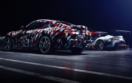 Den genopstandne: kamufleret Toyota Supra