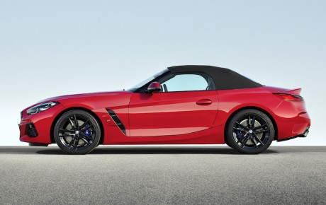 Den nye Z4 er mere BMW, mere roadster