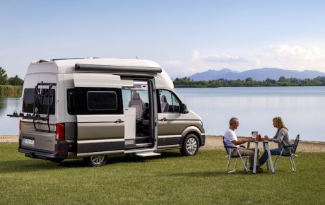 Camping de luxe - den nye VW Grand California