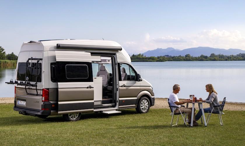 Camping de luxe - den nye VW Grand California