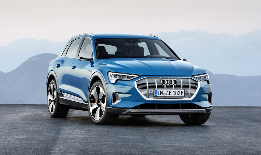 Audi E-tron lander på 799.995 kr. - i Danmark fra februar