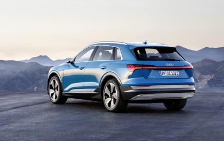 Audi E-tron blander sig i det elektriske spil