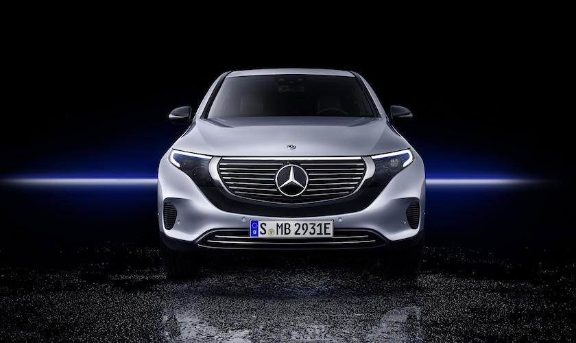 Achtung, Tesla! Her kommer Mercedes-Benz' elektriske SUV