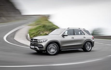 Ny Mercedes-Benz GLE - luksus som i S-Klassen