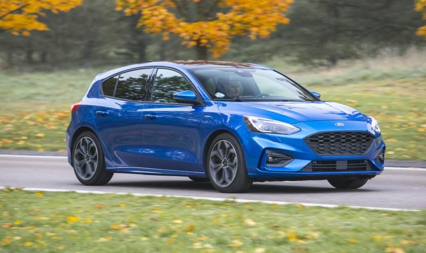 De fem finalister til Årets Bil 2019