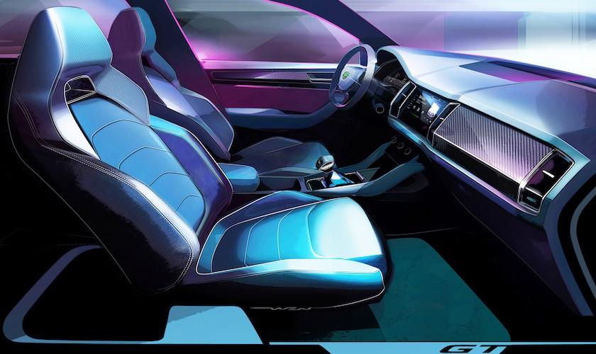 Skoda Kodiaq GT er en fed SUV-coupé (kun til Kina)