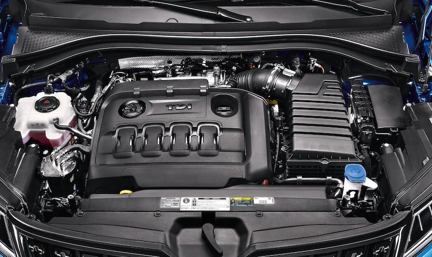 Skoda fyrer op under dieselmotoren i Kodiaq RS