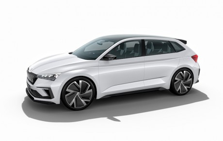 Det nye Skoda-design - og RS som hybrid med 245 hk