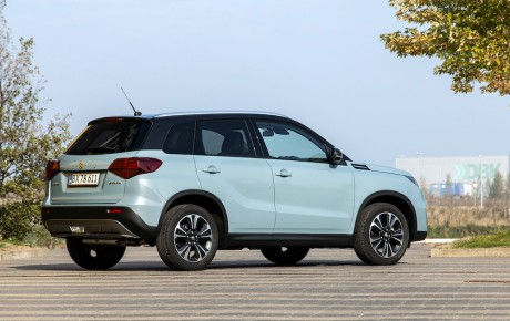 Facelift gør Suzuki Vitara mere relevant
