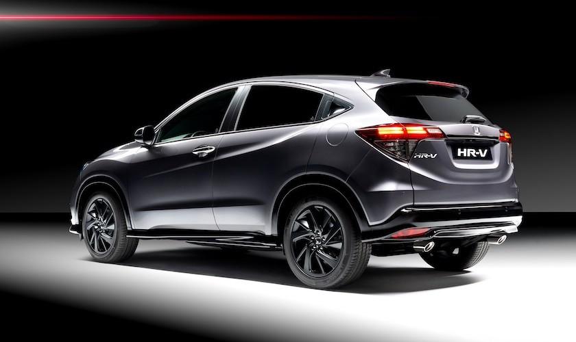 Der går sport i Honda HR-V