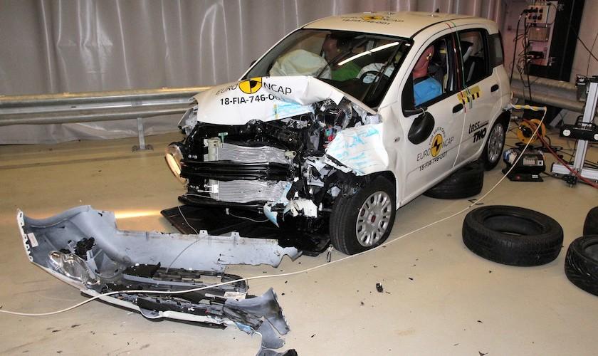 Den usikre italiener - Fiat Panda får 0 stjerner hos Euro NCAP
