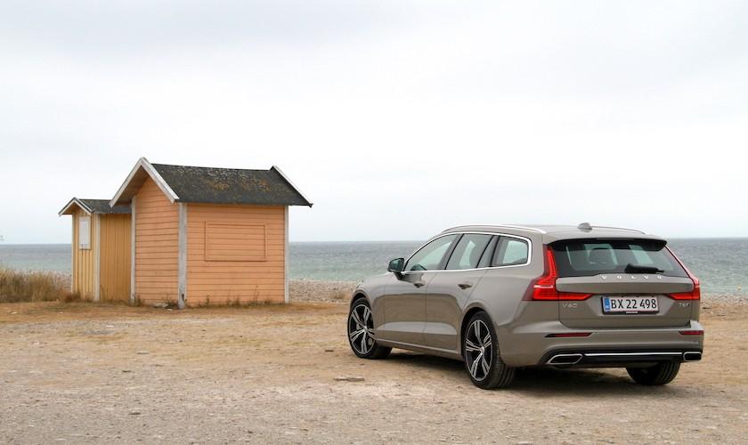 Designet bærer Volvo V60
