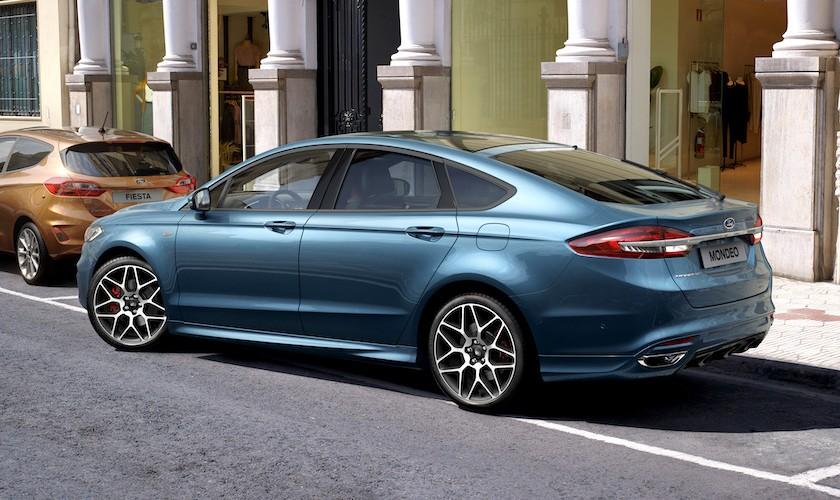 Faceliftet firma-Ford er landet i Danmark
