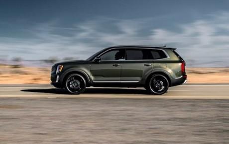 Kæmpe fra Kia - SUV'en Telluride kun til USA
