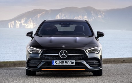 Ny Mercedes-Benz CLA Coupé - din for 434.900 kr.