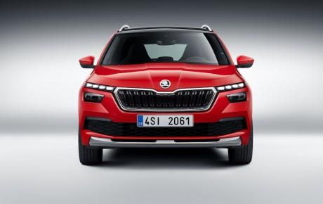 Skoda afslører sin nye mini-SUV