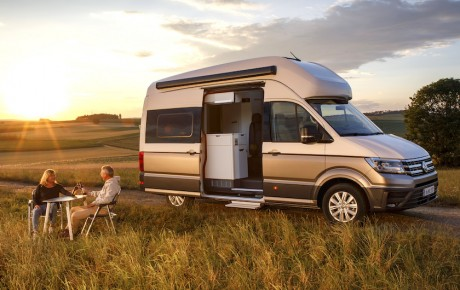 Volkswagens store campingbus - Grand California fra 699.000 kr.