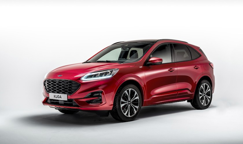 Den nye Ford Kuga er hybrid i alle udgaver