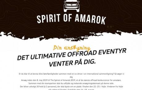 Amarok i Sydafrika? Volkswagen giver dig chancen