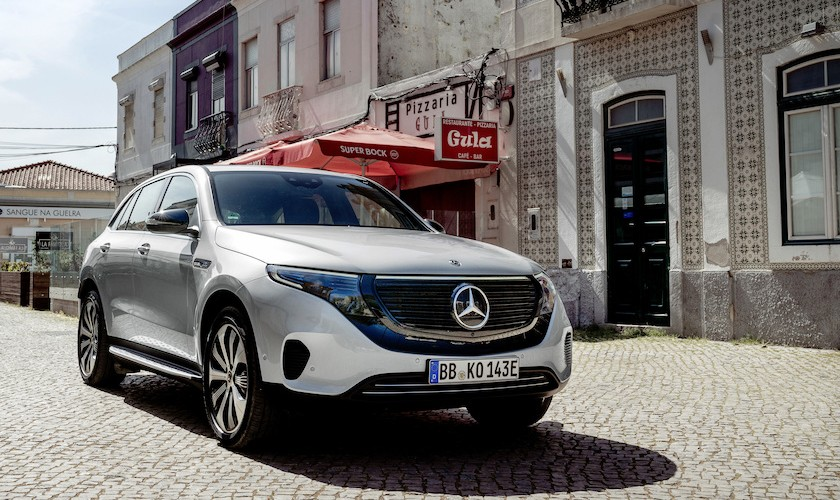 679.998 kr. for EQC - Mercedes-Benz' nye el-SUV