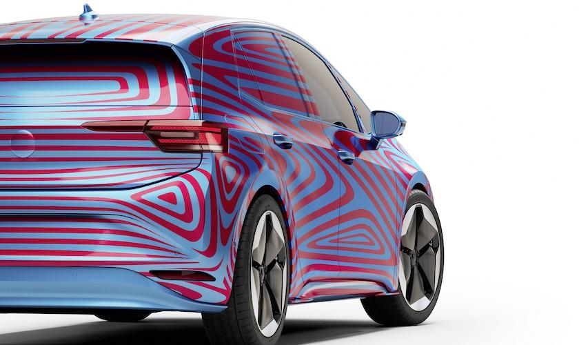 Volkswagens elbil ID.3 - rækkevidde på 330, 420 eller 550 km
