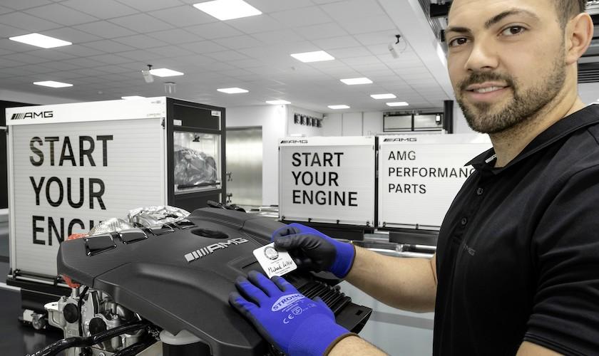 Rekord: Ny firecylindret AMG-motor yder 421 hk