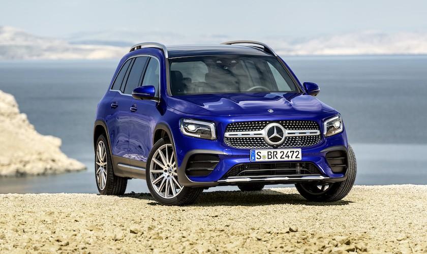 Mercedes GLB starter ved 445.000 kr.