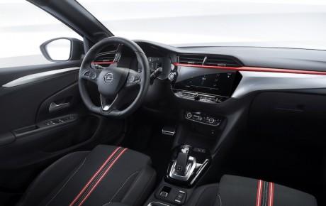 Sådan ser den nye Corsa ud, når den kører på benzin eller diesel