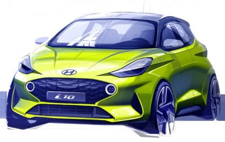Ny Hyundai i10 - premiere i september