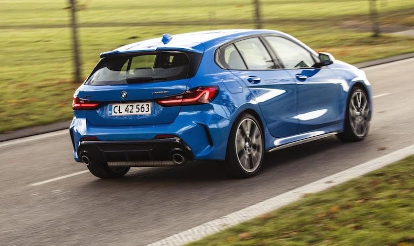 De fem biler i finalen - Årets Bil 2020
