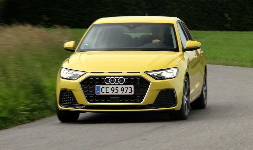 God lille Audi til en alt for høj pris