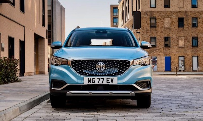 Kinesiske MG kommer til Danmark med el-SUV